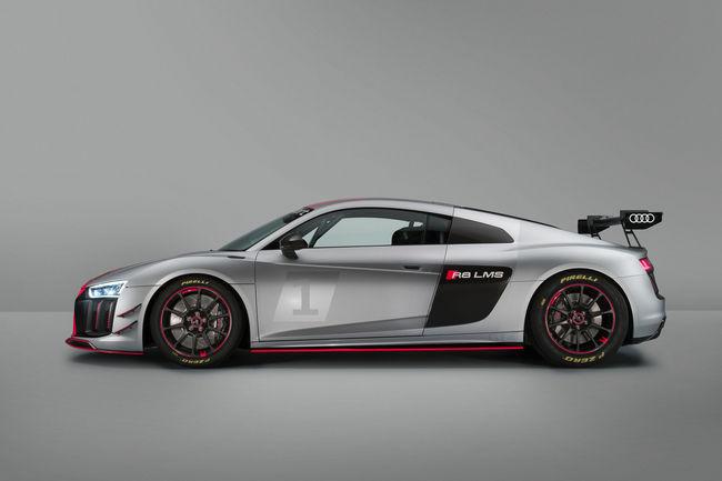 Une déclinaison GT4 pour l'Audi R8 LMS