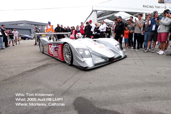 Embarquez avec Tom Kristensen dans l'Audi R8 LMP1 2005