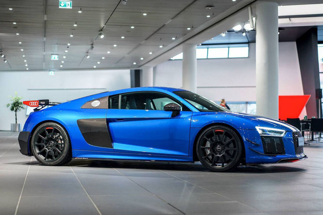L'Audi R8 V10 Plus et le kit Performance d'Audi Sport