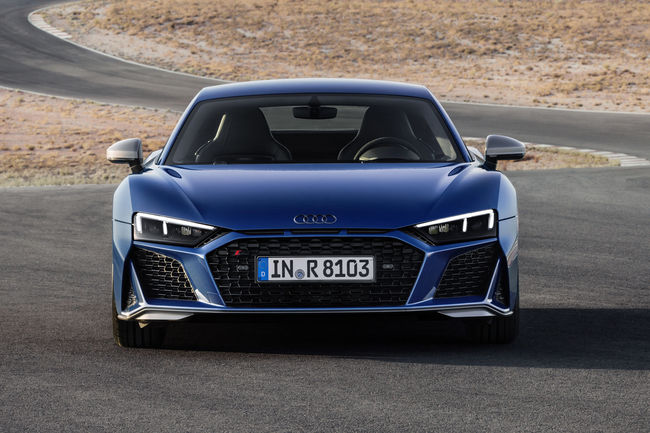 Audi R8 : restylage 2019