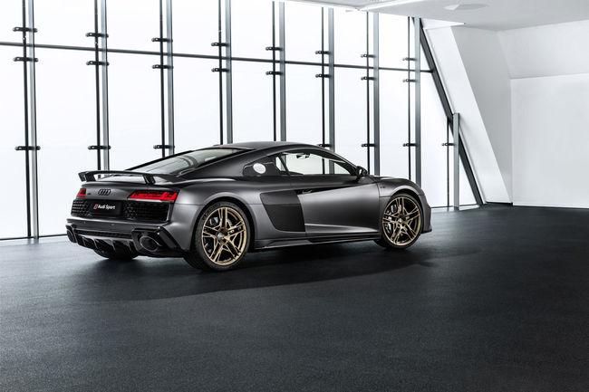 Édition limitée Audi R8 V10 Decennium