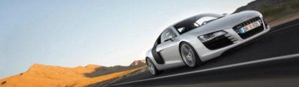 Carton plein pour l'Audi R8