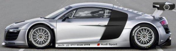 L'Audi R8 débarque en championnat GT3
