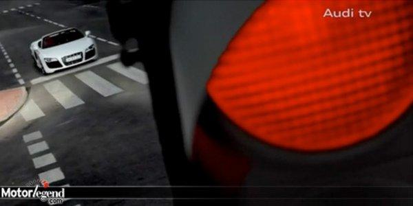 Audi R8 V10 Spyder en vidéo