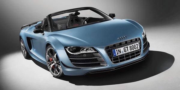 Audi dévoile la R8 GT Spypder