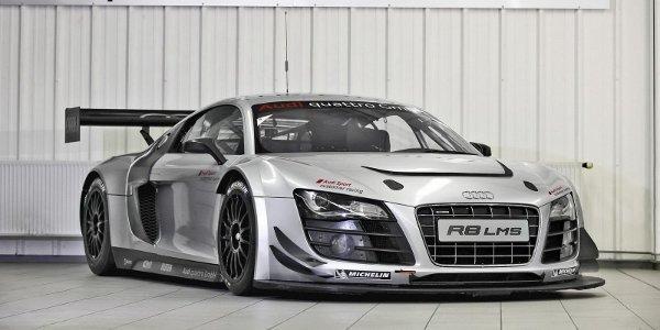 Audi présente la R8 LMS Ultra 2012