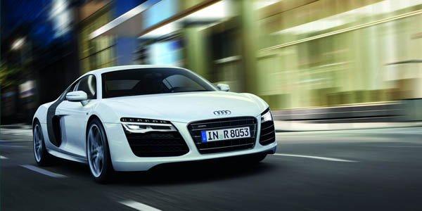Audi R8 restylée : timides évolutions