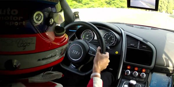 Audi R8 e-tron : silence, ça tourne !