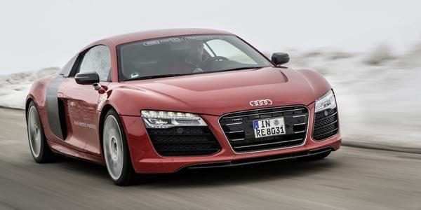 L'Audi R8 e-tron sera commercialisée