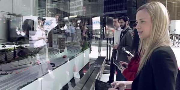 Audi revisite le slot racing avec l'iPad