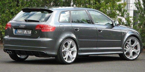 B&B rectifie l'Audi RS3 Sportback