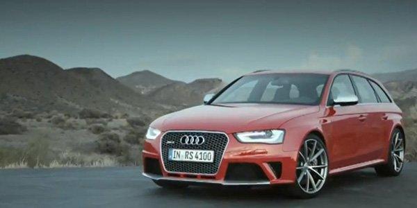 L'Audi RS4 Avant murmure en vidéo