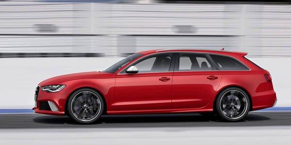 Audi RS6 Avant : plus athlétique