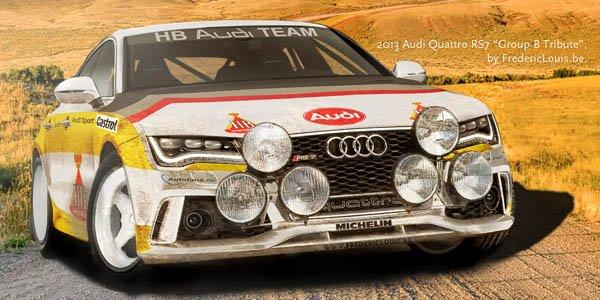 Audi RS7 : en version Groupe B ?