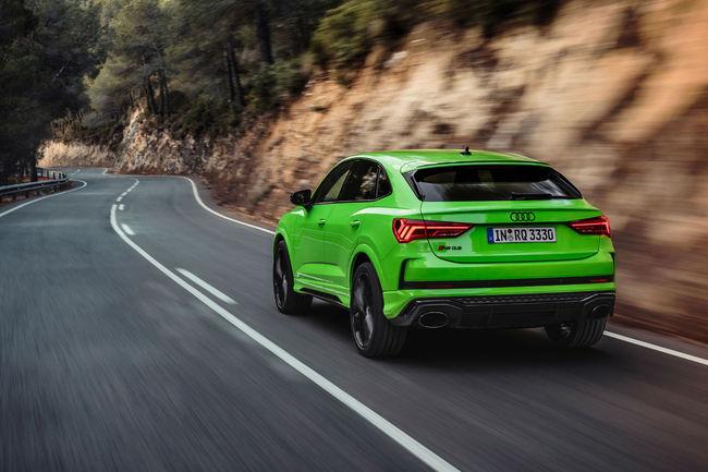 Nouvelles Audi RS Q3 et Audi RS Q3 Sportback