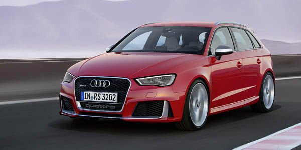367 ch pour la nouvelle Audi RS3 Sportback