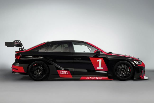 Audi RS3 LMS : taillée pour la course