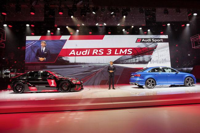 Audi RS 3 LMS : déjà un succès