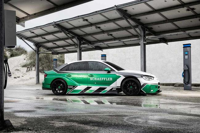 Concept Schaeffler 4ePerformance, l'Audi RS3 électrique