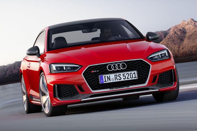Audi RS 5 Coupé 2017 : ouverture des commandes