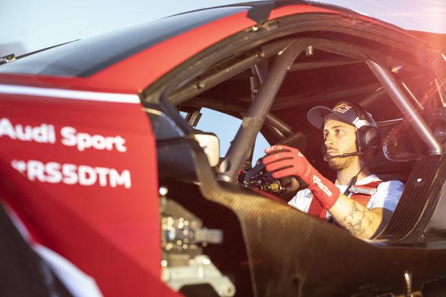 Andrea Dovizioso en DTM à Misano avec Audi