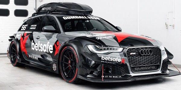 Jon Olsson dévoile son Audi RS6 Avant DTM