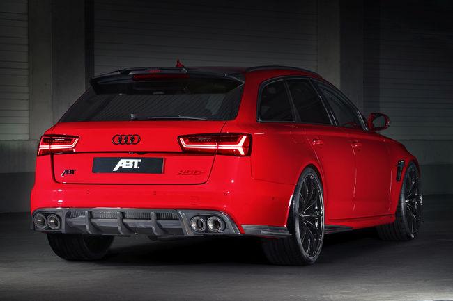 ABT Audi RS6+ : 705 ch sous le capot