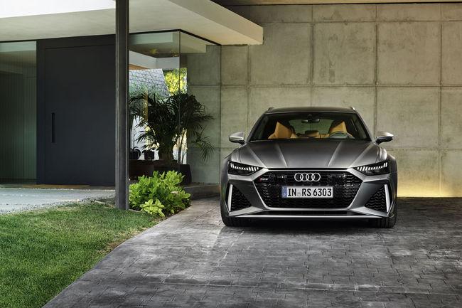 600 ch pour la nouvelle Audi RS 6 Avant