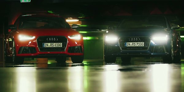 Les Audi RS6 et RS7 Performance en action