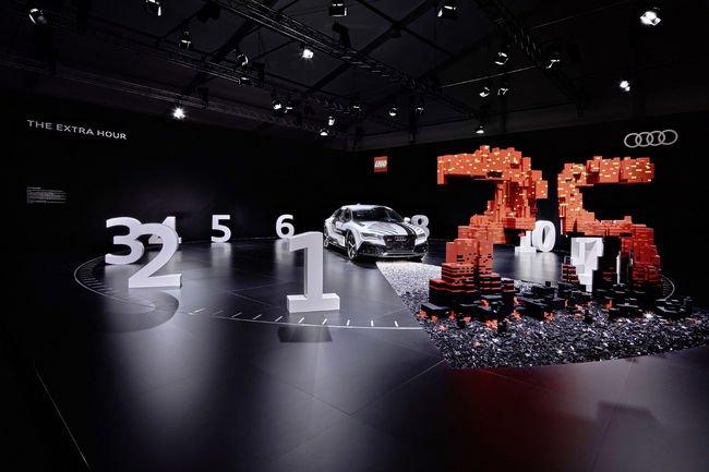 Une installation Lego inédite pour Audi