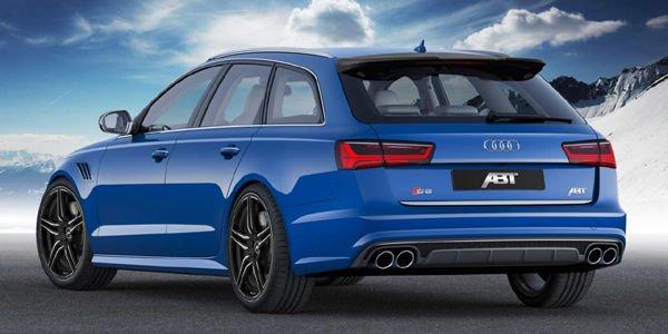 550 ch pour l'Audi S6 préparée par ABT Sportsline