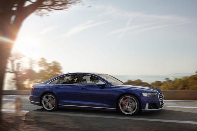 Nouvelle Audi S8 : un V8 de 571 ch