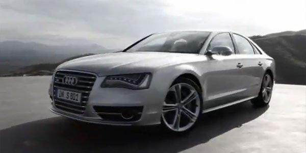 vidéo Audi S8 2012