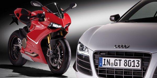 Audi se paye Ducati