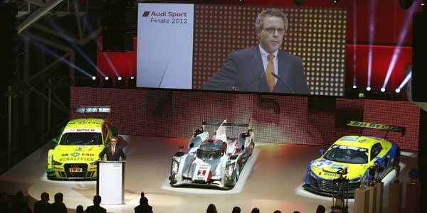 Audi dévoile son programme sportif 2013