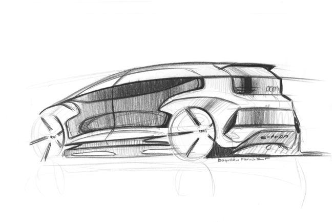 Concept Audi AI:me : premières esquisses