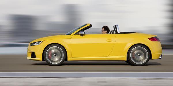 Nouvelles Audi TT et TTS Roadster