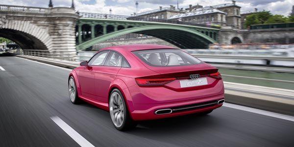 Audi présente son TT Sportback concept à Paris
