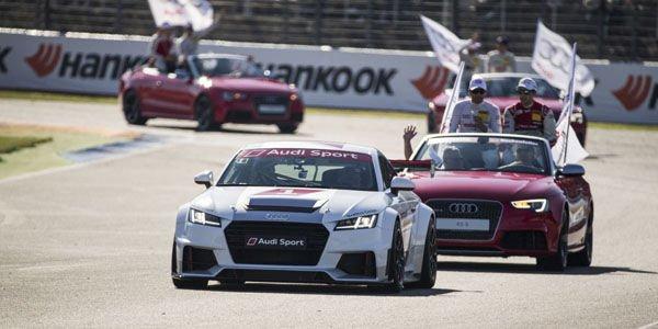 L'Audi Sport TT Cup est déjà un succès