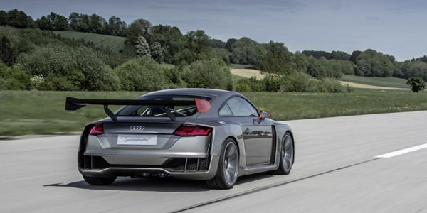 L'Audi TT Clubsport Turbo concept en action