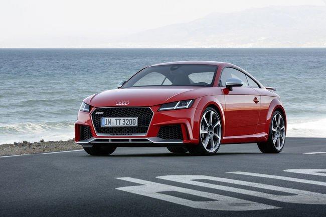 Nouvelles Audi TT RS Coupé et Roadster