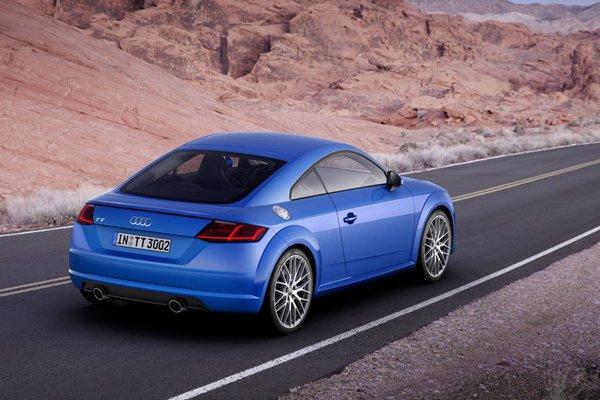 Nouvelle Audi TT 2.0 TDI quattro S tronic