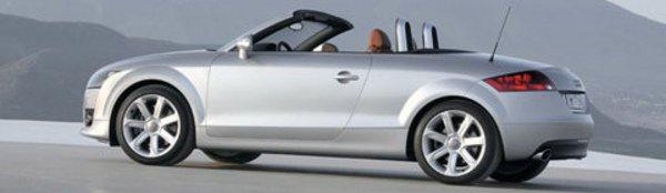 L'Audi TT enlève le haut