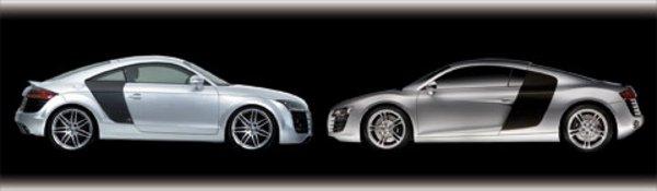 Audi TT B&B, un look de R8 et 320 km/h