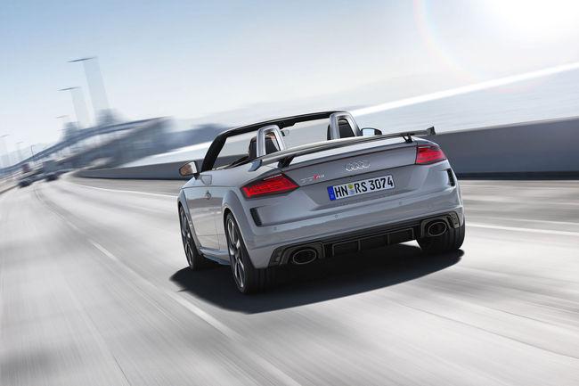 Nouvelle Audi TT RS : 400 ch sous le capot