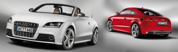 L'Audi TTS montre les crocs