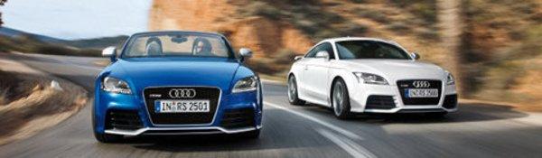 Premières images de l'Audi TT RS