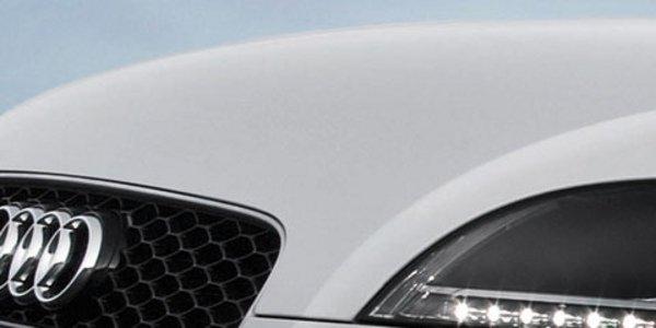 Audi à Leipzig : le TT facelifté
