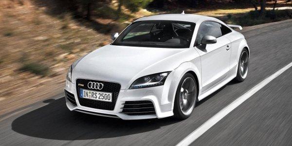 L'Audi TT RS enjambe l'Atlantique