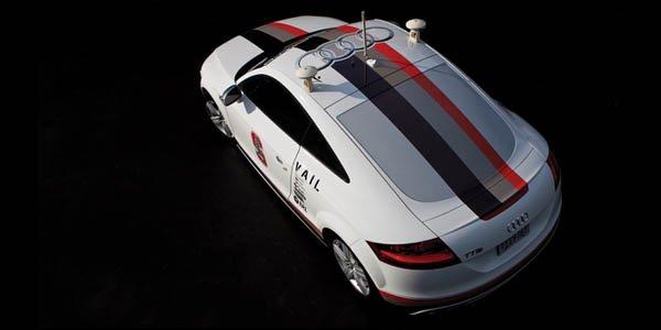L'Audi TT autonome lâchée au Nevada